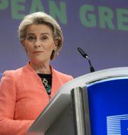 EU-kommissionens ordförande Ursula von der Leyen Valeria Mongelli / TT NYHETSBYRÅN