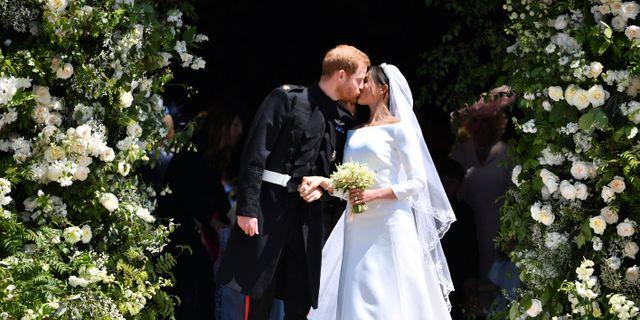 Bröllopet. Ben Stansall / TT / NTB Scanpix
