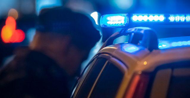 Polis/arkivbild.  Johan Nilsson/TT / TT NYHETSBYRÅN