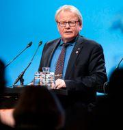 Försvarsminister Peter Hultqvist.  Henrik Montgomery/TT / TT NYHETSBYRÅN