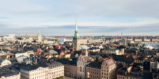 Vy över gamla stan i Stockholm. Fredrik Sandberg/TT / TT NYHETSBYRÅN