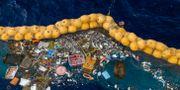 Plast samlas upp i den nya konstruktionen TT NYHETSBYRÅN