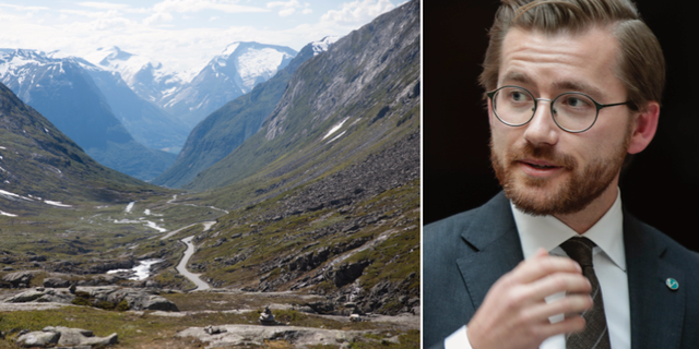 Klimat- och miljöminister Sveinung Rotevatn. TT