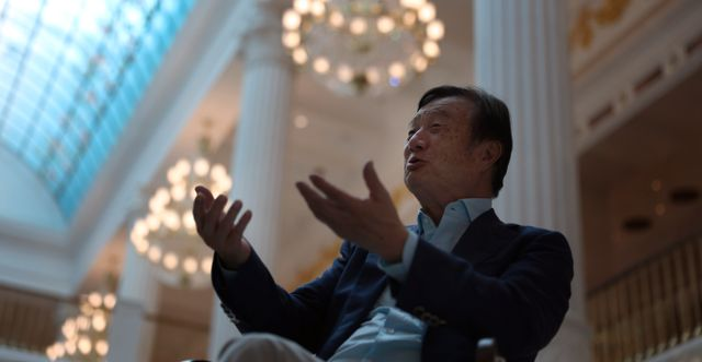 Ren Zhengfei.  Ng Han Guan / TT NYHETSBYRÅN/ NTB Scanpix