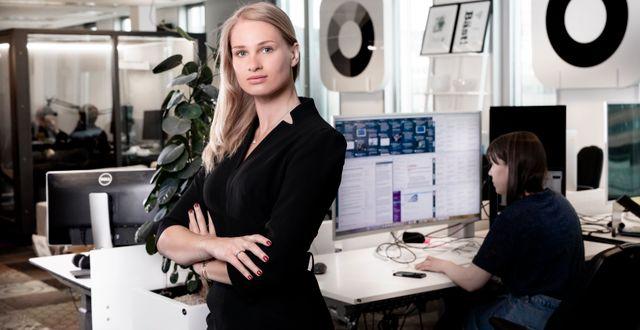 Anna Svahn, investerare  Magnus Sandberg
