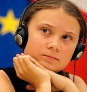 Greta Thunberg. PHILIPPE WOJAZER / TT NYHETSBYRÅN