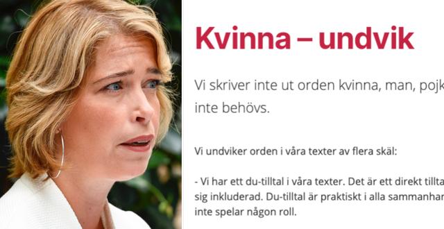 Annika Strandhäll/bild från Vårdguidens hemsida TT/Vårdguiden