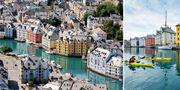 Ålesund är Nordens svar på Venedig. Hostelworld / Tripadvisor