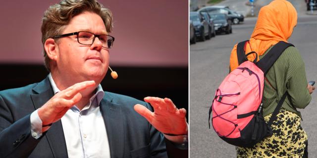Moderaternas partisekreterare Gunnar Strömmer.  TT