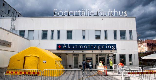 Södertälje sjukhus Pontus Lundahl/TT / TT NYHETSBYRÅN