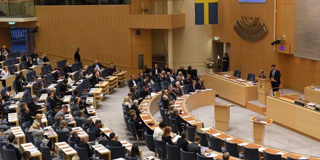 Riksdagshuset i Stockholm. Fredrik Sandberg/TT / TT NYHETSBYRÅN