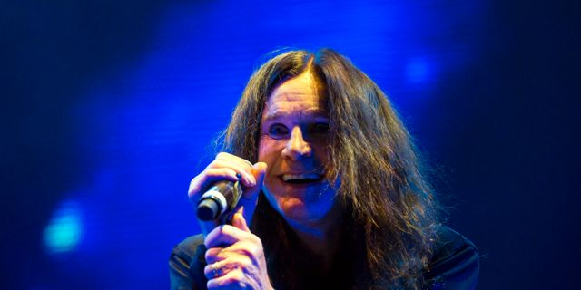Ozzy Osbourne. Balazs Mohai / TT NYHETSBYRÅN