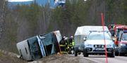 Tre unga människor miste livet i bussolyckan den 2 april 2017. Arkivbild. Nisse Schmidt/TT / TT NYHETSBYRÅN
