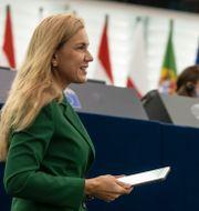 EU:s energikommissionär Kadri Simson. Jean-Francois Badias / TT NYHETSBYRÅN