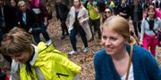 Zuzana Caputova kallas Slovakiens Erin Brokovich. VLADIMIR SIMICEK / AFP