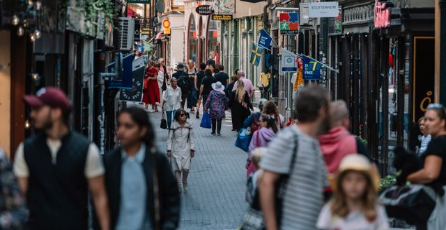 Turister i Gamla stan, juli 2020 Stina Stjernkvist/TT / TT NYHETSBYRÅN