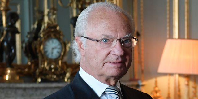 Kung Carl XVI Gustaf Henrik Montgomery/TT / TT NYHETSBYRÅN