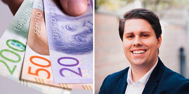 Nicklas Andersson, sparekonom på Avanza.  Colourbox, Avanza