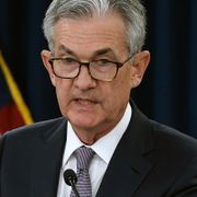 Jerome Powell.  OLIVIER DOULIERY / AFP