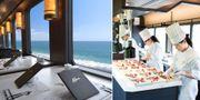 Gourmettåget Tohoku Emotion har plats för 48 passagerare åt gången. East Japan Railway Company