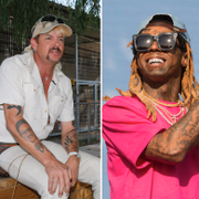 Joe Exotic/Lil Wayne/Kodak Black. TT