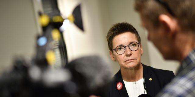 Ann-Sofie Hermansson (S) är kommunstyrelsens ordförande i Göteborg.  Björn Larsson Rosvall/TT / TT NYHETSBYRÅN