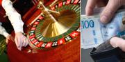Pengarna har tvättats på kasinon i södra Europa. TT