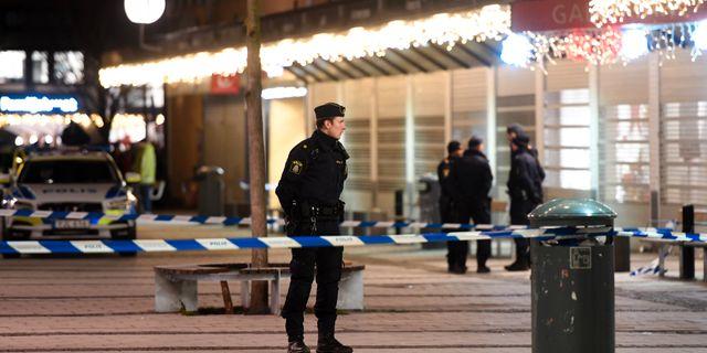 Mordet skedde den 8 januari. Fredrik Sandberg/TT / TT NYHETSBYRÅN