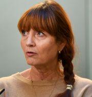 Marie Nilsson, ordförande IF Metall.  Fredrik Sandberg/TT / TT NYHETSBYRÅN