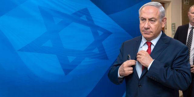 Benjamin Netanyahu. Sebastian Scheiner / TT / NTB Scanpix