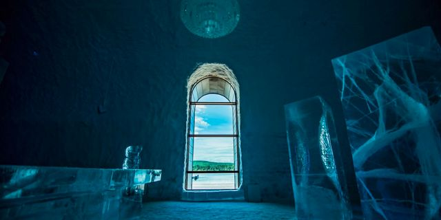 Den 14 december öppnar Icehotels nya sviter, som skapats av 33 konstnärer från 13 olika länder. Asaf Kliger / Icehotel