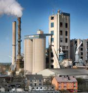 Arkivbild: Cementas fabrik i Slite, Gotland. Tobias Wallström / TT / TT NYHETSBYRÅN