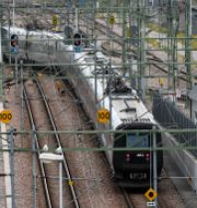 Ett tåg på en tågstation. Arkivbild. Johan Nilsson/TT / TT NYHETSBYRÅN