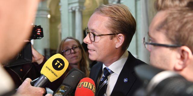 Tobias Billström. Henrik Montgomery/TT / TT NYHETSBYRÅN
