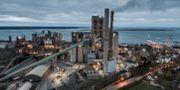 Cementas fabrik i Slite på Gotland. Magnus Hjalmarson Neideman/SvD/TT / TT NYHETSBYRÅN