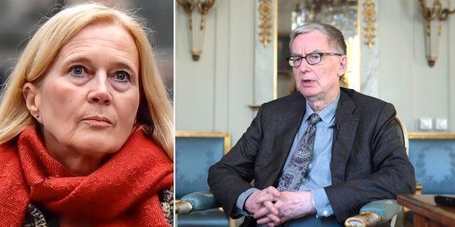 Katarina Frostenson/Anders Olsson. TT