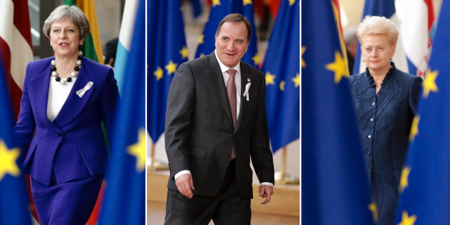 Eu toppmotet danska ledarna prisas