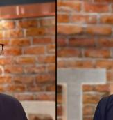 Fredrick Federley och Malin Björk under debatten. Expressen tv
