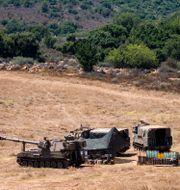 Israeliska soldater nära gränsen till Libanon. Arkivfoto. Ariel Schalit / TT NYHETSBYRÅN