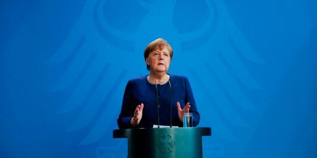 Merkel MARKUS SCHREIBER / TT NYHETSBYRÅN