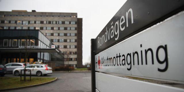 Flickan fördes i februari till Östra sjukhuset i Göteborg. Adam Ihse / TT / TT NYHETSBYRÅN