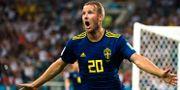 Ola Toivonen under sommarens VM-match mot Tyskland. PETTER ARVIDSON / BILDBYR N