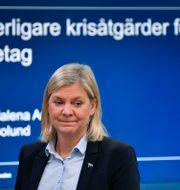 Finansminister Magdalena Andersson (S). Anders Wiklund/TT / TT NYHETSBYRÅN