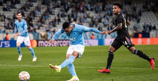Malmö FF på hemmaplan mot Juventus.  PETTER ARVIDSON / BILDBYRÅN