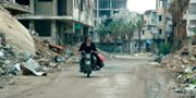 Syriska staden Arbin 18 december i år. MAHER AL MOUNES / AFP