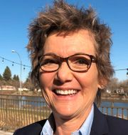 San Fransiscos Fed-chef Mary Daly.  Ann Saphir / TT NYHETSBYRÅN