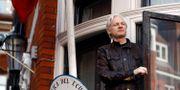 Julian Assange.  Frank Augstein / TT NYHETSBYRÅN