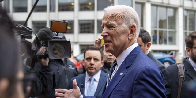 Joe Biden. TASOS KATOPODIS / GETTY IMAGES NORTH AMERICA