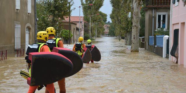 Man forsvunnen i franska oversvamningar