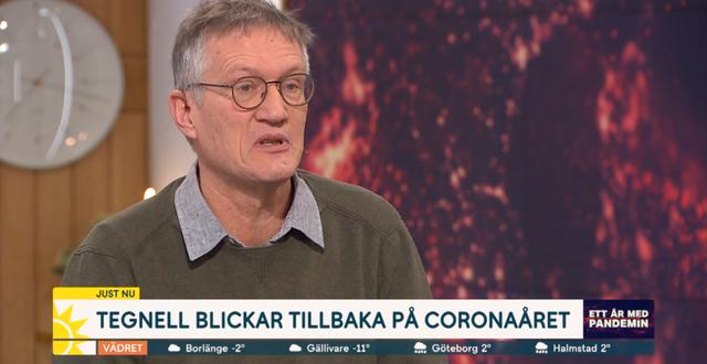 Statsepidemiolog Anders Tegnell. TV4.